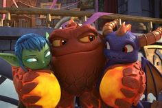 Cozy Up With Your Kids and a Netflix Binge This October Skylanders Academy