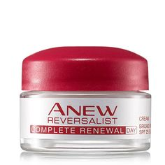 Support your Avon skin care anti-aging routine with the Complete Renewal Day Cream. This Elastix technology breathes life into your skin to return firmness and smoothness. 93% of women agreed skin looks naturally line-free in just 1 week.