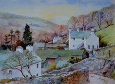 Malcolm Coils ‏@malcolmcoils 18 Dec 2016 Watercolour of Nanny Lane Troutbeck Cumbria on quarter imperial #Bockingford 200 lb paper.