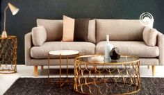White or pale floors, Felix sofa Ozdesign Furniture