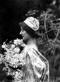 Photographs by Émile Joachim Constant Puyo... - Portrait of a Daydreamer