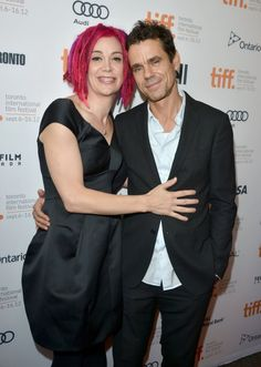 Tom Tykwer and Lana Wachowski at event of A Viagem...(two beautiful people I aspire to meet and be more like) #Sense8 #CloudAtlas