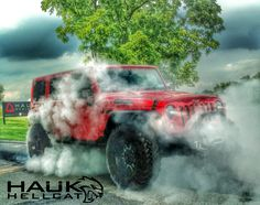 Hauk Hellcat #2!!! Badass Jeep, Four Wheel Drive, Number Two, Offroad, Design Projects, Monster Trucks, River, Jeeps, Instagram Posts