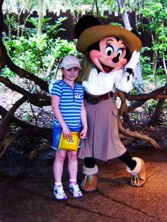 #MinnieMouse #Rae #AmimalKingdom