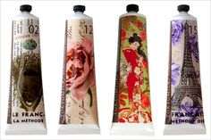 Tokyo Milk Hand Cream- this product line can easily put me in debt. Pretty Packaging, Beauty Packaging, Brand Packaging, Product Packaging, Tokyo Milk, Perfume, Hand Lotion, Packaging Design Inspiration, Rolling Stones