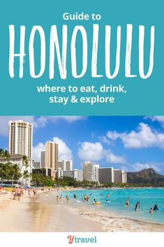 Honolulu Travel Tips - what are the best things to do in Honolulu Hawaii. See inside for advice on what to see and do, where to eat, places to stay in Honolulu, and much more for your Hawaii vacation!  Tips for finding the best beaches, restaurants, hotels and more.  This is a must read guide before planning your bucketlist vacation to this incredible US travel destination! #Honolulu #Hawaii #Oahu #travel #familytravel #vacation #traveltips