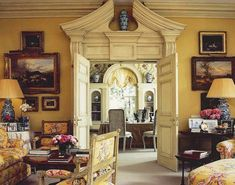 Traditional Interior, Classic Interior, Hampshire, English Country Decor, French Country, English Interior, Country House Interior, Grand Homes, Top Interior Designers