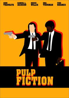 Pulp Fiction Minimalist Poster Pulp fiction
