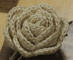 Funky Fabrix: Crochet Rose Pattern by Megan Wills