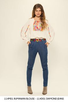 Rumanian Blouse - Diamond Jeans