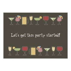 {Fun} Cocktails Card