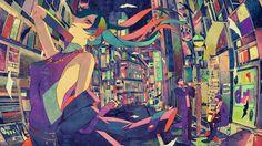 Gorgeous Japanese Anime Paintings