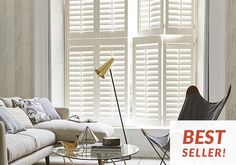 Window shutters | Tier on tier | Solid wood and polyvinyl - California Shutters