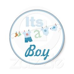 Shop It's a Boy Baby Shower Sticker created by Naomikimhi. Boy Baby Shower Themes, Baby Shower Favors, Baby Boy Shower, Baby Journal, Princess Aurora, Diy Ribbon, Candy Bars, Baby Scrapbook, Bongs