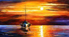 SEA SHADOWS - PALETTE KNIFE Oil Painting On Canvas By Leonid Afremov - http://afremov.com/SEA-SHADOWS-PALETTE-KNIFE-Oil-Painting-On-Canvas-By-Leonid-Afremov-Size-20-x36.html?bid=1&partner=20921&utm_medium=/vpin&utm_campaign=v-ADD-YOUR&utm_source=s-vpin