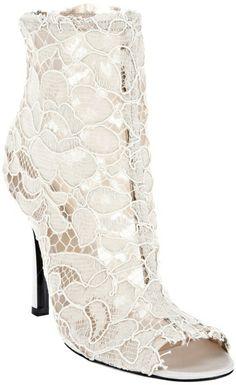 Dolce & Gabbana lace bootie