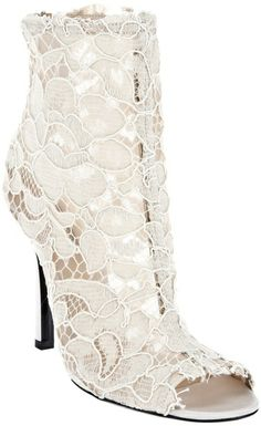 Dolce & Gabbana lace bootie