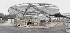 car park shelter designs - Google Search