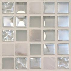 #whitesunday #white #pattern #square #marble #glass #mosaic #shadesofwhite #shades #imfeelingalittleminimaltoday #two_themes #tiles #tileaddiction by annikathelaus