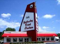 The Big Chicken in Marietta Georgia.  so much fun with Michelle & Heather