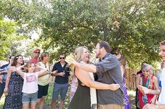 Eclipse Event Co. | Wedding and Event Planners | Austin, Texas | Lemon Yellow & Grey Gender Reveal