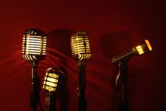 The hot quartet I created. Vintage Microphone, Create, Hot