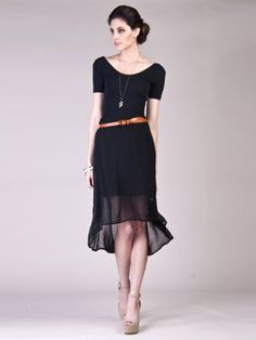 Amazon.com: Gone With the Wind Womens Trendy Fashion High Low Flowy Skirt: Clothing