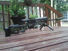 Loaded Rem700 .308 NATO bolt-action