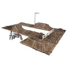 MXS Race Track Dirt Bike Party, I Cool, Track, Racing, Toys, Amazon, Games, Ideas, Running