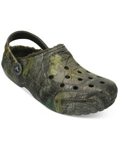 f4b81459c Crocs Men s Classic Realtree Xtra Lined Clogs   Reviews - All Men s Shoes -  Men - Macy s