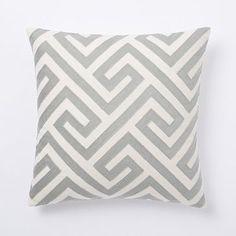 Steven Alan Abstract Crewel Pillow Cover - Golden Gate | West Elm