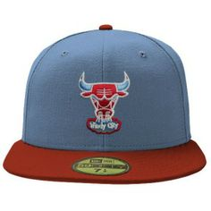 Chicago Bulls Chicago Flag 59FIFTY Cap by New Era | Sports World Chicago $37.95