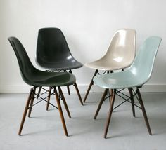 Eames dsw shell chairs herman miller stoelen en banken pinterest eam - Copie chaise eames dsw ...