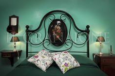 Menta bedroom double bed