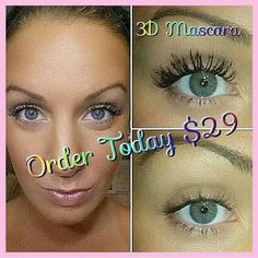 Shop for 3D mascara here on my site   https://www.youniqueproducts.com/MarysolFlores/party/237401/view