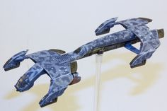 Winter UCM condor by Lucas the Beard Sci Fi Miniatures, Painting Competition, Spaceships, Spacecraft, Armed Forces, Scale, Games, Winter, Activity Toys