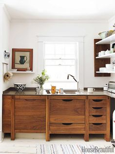A Scandinavian-Inspired Kitchen in New York