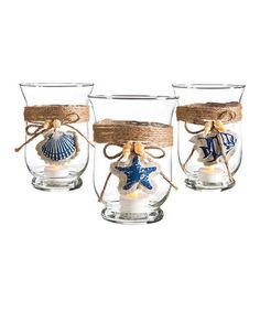 Look what I found on #zulily! Nautical Candle Holder Set by Cypress Home #zulilyfinds