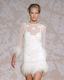 Jenny Packham's fall 2011 wedding dress collection, straight from the runway.