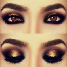 Beautiful.  One of my fave looks for eyes.