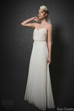 Erez Ovadia 2015 Wedding Dresses — Blossom Bridal Collection | Wedding Inspirasi