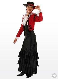 Flamenco Girl Costume - maskworld.com