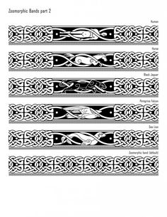 Granuaile's Tattoos - Iron Druid Chronicles