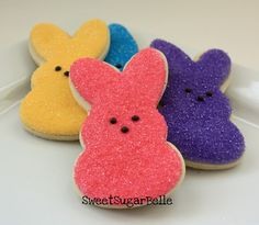 Peeps Sugar Cookies...making these cute cookies with my cookie monsters today!!