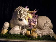 """This cake won """"Gold and Best of Show""""  All edible and fab!"""