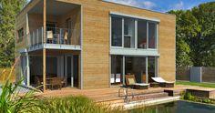 Architektur im Bauhaus-Stil PlanMit Entwurf Bauhaus 148 m²