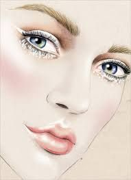 makeup illustrations - Google Search