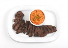 Recipe For  Skirt Steak with Romesco Sauce