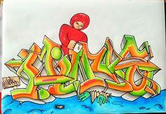 Copic Deutschland Blog: Graffiti mit Copics