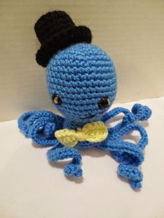Traveling Home: FREE Crochet Octopus!!!!!. My free pattern. :D